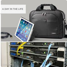 A day in the life of an IT System Administrator at a design firm. Does Samsonite have a place in your day-to-day?