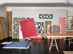 Alexander Girard - Wall hangings and blankets