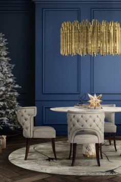 With the holiday season just around the corner, it is time to start decorating your home with a jolly good feel, and to keep the ghosts of interior designs past away we gathered a few inspirations just for you!