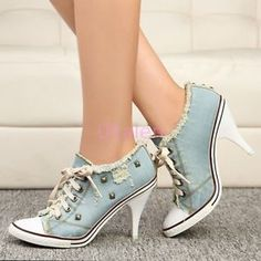 Cool 36 Cute And Cool High Heel Shoes You Love To Wear. More at http://aksahinjewelry.com/2017/12/16/36-cute-cool-high-heel-shoes-love-wear/