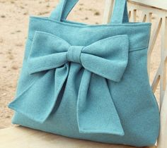 big bow, white sand, yes, please.