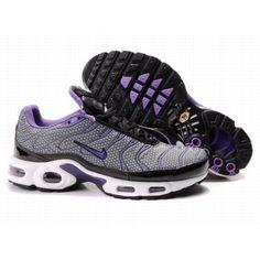4e090adac63 Hommes Nike Air Max TN Gris Noir Violet 88