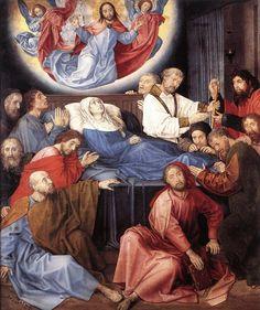 """Hugo van der Goes (1430/1440 - 1482) was een Vlaamse kunstschilder. Hij wordt samen met schilders als Jan van Eyck, Rogier van der Weyden, Hans Memling en Dirk Bouts bij de Vlaamse Primitieven gerekend. Het werk van deze schilders wordt vandaag doorgaans tot de vroege noordelijke renaissance gerekend.  Primitief betekent in deze context dan ook 'eerst' of 'vroeg'. Zijn belangrijkste werk is het"""" Portinari-altaar""""(Florence, Uffizi).  In drie delen volgend op dit bord."""