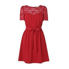 I would like to wear this dress on Valentine's day! :)