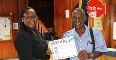 """""""Postman Tim"""" the real #Nevis Minister of Tourism.  https://www.facebook.com/nevis.island"""