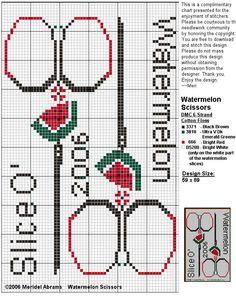 schema forbici punto croce - Cerca con Google