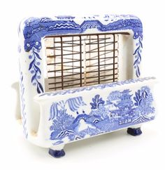 "Vintage ""Blue Willow"" Toastrite Electric Toaster : EBTH"