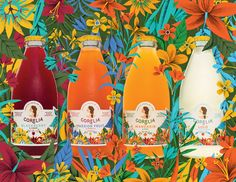 We've got mega heart eyes for Corelia, a 100% natural sparkling soft drink made with Colombian tropical ...