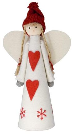 Nordic Angel Tree Topper Christmas Decorations & Gifts - The Contemporary Home