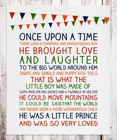 Loving this BirdRow 'Once Upon A Time' Print on #zulily! #zulilyfinds