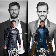 Chris Hemsworth || Thor || Tom Hiddleston || Loki