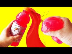 Diy slime super fun and easy clay slime without any glue borax diy slime with gatorade challenge how to make slime without borax by bum bum surprise ccuart Choice Image