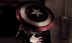 Aesthetic: Steve Rogers protecting Natasha Romanoff