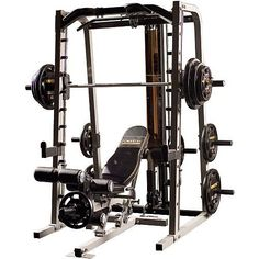 Powertec Smith Machine Bench Sold Separately Dick S