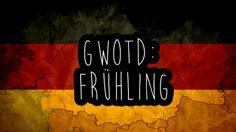 Das deutsche Wort des Tages ist: der Frühling - Spring | Was ist eure Lieblingsjahreszeit?