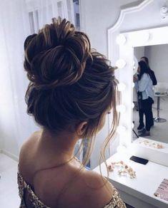97 Inspirational Wedding Bun Hairstyles Gorgeous Feminine Wedding Hairstyles for Long Hair, 10 Gorgeous Wedding Updo Hairstyles, Bridal Hairstyles 18 Gorgeous Wedding Bun, Easy Wedding Bun Updo Cute Hairstyles for Girls with Long Hair. Bridal Hairstyles With Braids, Braided Hairstyles, Wedding Hairstyles, Updo Hairstyle, Hairstyle Ideas, Perfect Hairstyle, Gorgeous Hairstyles, Medium Hairstyles, Elegant Hairstyles