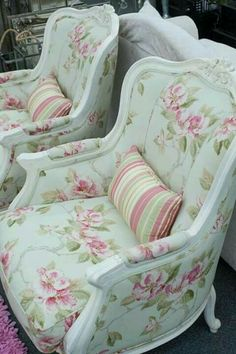 """Mint"" chairs"
