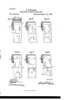 Over or Under? This 124-Year-Old Patent Reveals The Right Way To Use Toilet Paper. VINDICATED!