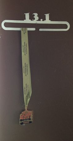 Running Medal Display Rack and/or Holder 13.1 by WeldingByWhitt, $30.00