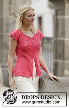 Ravelry: 159-5 Call It Spring Cardigan pattern by DROPS design