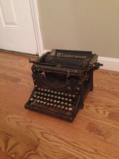 Early 1900's underwood no.5  typewriter antique by MisterOhms, $100.00