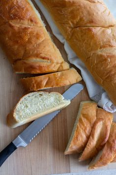 Diane's No Fail French Bread has a chewy texture, without being too dense. This easy to make French Bread recipe makes two HUGE loaves! Best French Bread Recipe Ever, Homemade French Bread, French Recipes, Easy Bread Recipes, Cooking Recipes, Yummy Recipes, Recipies, How To Make Bread, Food To Make