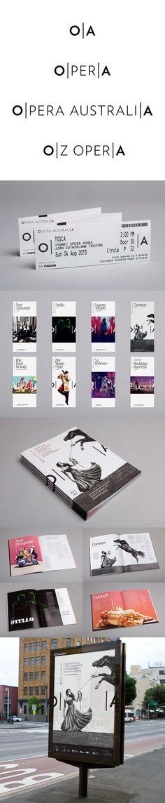 Opera Australia Re-Brand - Interbrand Sydney