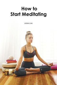 How to start meditating