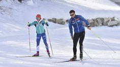 Koukalová se po stíhačce projela po tréninkové trati s manželem Petrem Bronze, Sport, Deporte, Sports