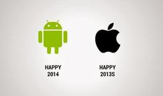 Happy New Year From #Android #Apple & the Funny Technology - Community on Google+| #HappyNewYear