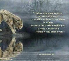a reflection....