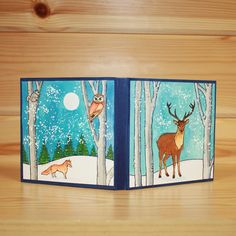 Christmas has arrived at Hobby Art! 'Nature Trail' Clear set contains… Xmas Cards, Holiday Cards, House Mouse Stamps, Christmas Tag, Clear Stamps, Decoration, Trail, Moose Art, Projects To Try