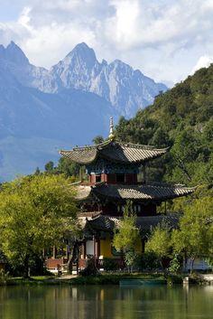 Banyan Tree Lijiang Black Dragon pool #China