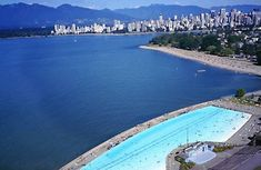 Kitsilano Pool Vancouver (BC) - 137 meters long.