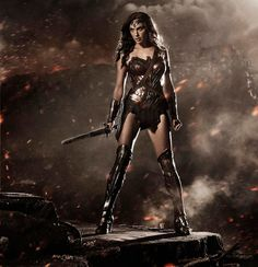 Gal Gadot as Wonder Woman: First Pic From Batman vs. Superman Sequel - Us Weekly