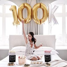 Celebrating 100k!  Thank you to everyone who has followed my journey! I remember being so excited to reach 10,000. To reach 100,000, I'm lost for words! I couldn't have done it without the incredible support from family, friends and most of all - you guys! Tell me which city you are from?   Special thanks to @ironchefshellie for spoiling me with these delicious desserts!   #100k #celebration #mymemorablemoment #kerrandvalencia #flowers #dessert #cake #breakfastinbed #breakfast