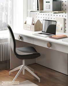 Foraad Studio on Behance Dream Home Design, Home Office Design, House Design, Kitchen Room Design, Apartment Design, Kids Bedroom, Kids Rooms, Wall Design, Furniture Design