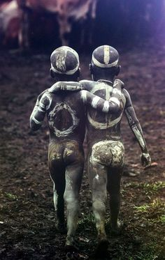 Children of the Omo Valley, Ethiopia, by Hans Silvester.