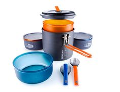 GSI Outdoors - Pinnacle Dualist, Camping Cook Set, Superior Backcountry Cookware Since 1985 in Automotive in Sports & Outdoors > Outdoor Recreation > Camping & Hiking > Camp Kitchen > Camping Cookware > Pots, Pans & Griddles Camping Cooking Set, Camping And Hiking, Camping Survival, Hiking Gear, Family Camping, Camping Gear, Outdoor Camping, Camping Hacks, Outdoor Gear