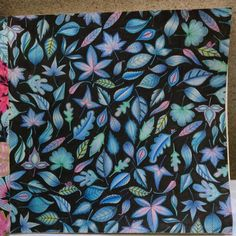 "Johanna Basford ""Secret Garden"" - Leaves"