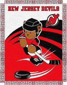 NHL New Jersey Devils Woven Jacquard Baby Throw Blanket by Northwest. $14.34. Get your child in on the action, it's never too early to be the biggest fan! Enjoy Northwest's woven Officially Licensed baby blankets featuring a cute teddy bear and your favorite teams Logo. Your kids will absolutely love this throw! This 36-inch-by-46-inch woven throw has decorative fringes on all four sides and is made of soft, yet durable high bulk acrylic. It's easy to care for ...