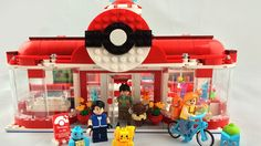 Builder Savath_Bunny shared superb-looking Pokémon center on LEGO Ideas and filled it with the main characters, Pokémon starters and all the gadgets you can find in the games.