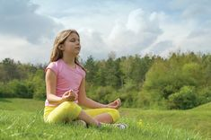 Meditation is a great tool for children to find peace and balance and dealing with anxiety.