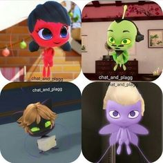 Miraculouses with ther owners' hairs nxpsjdşsjcms looks hilarious<<< you find it funny I find it scary! Les Miraculous, Miraculous Ladybug Fanfiction, Miraculous Characters, Miraculous Ladybug Fan Art, Miraculous Ladybug Plagg, Tikki Miraculous, Plagg Miraculous, Meraculous Ladybug, Ladybug Comics