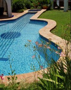 Cool guitar swimming pool