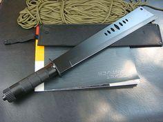 US $41.07   SAMURAI ALLIGATOR STYLE LARGE HUNTING SURVIVAL DUNDEE BOWIE KNIFE MACHETE