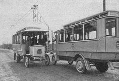 1912 Oberleitungsomnibusse in Steglitz