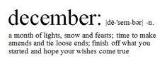 December ❥ my birthday, Hanukkah, Christmas and our anniversary! A busy month :)