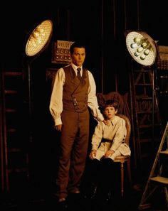 """Johnny Depp and Freddie Highmore, """"Finding Neverland"""""""