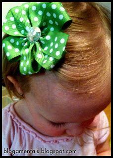 Life's Blogamentals: Basic Pinwheel Hair Bow